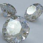 Алмаз не растворяется в кислоте