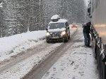 В Европе сильные снегопады