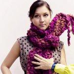 Как завязать шарф зимой: мастер-класс