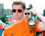 Фанаты в Киеве выпили за 2 дня 30 тысяч литров пива