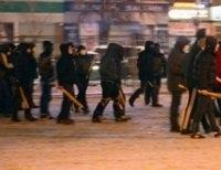 Схема взаимосвязи людей, руководивших подавлением Майдана, которую обнародовало МВД Украины